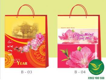 Túi giấy đựng quà Tết 01