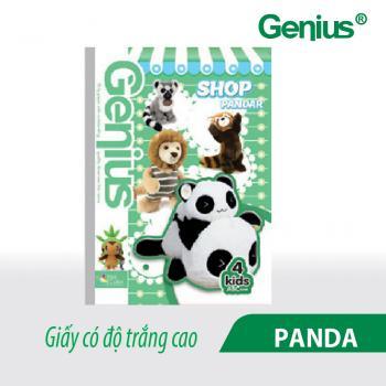 vở kẻ ngang panda 006